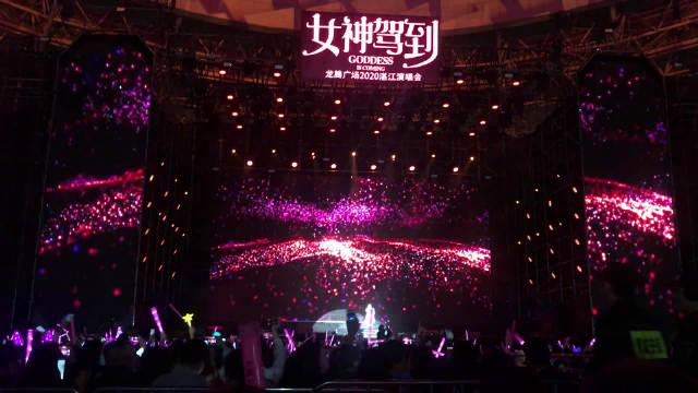 亚洲天后张韶涵在 再唱成名曲《隐形的翅膀》歌声依旧