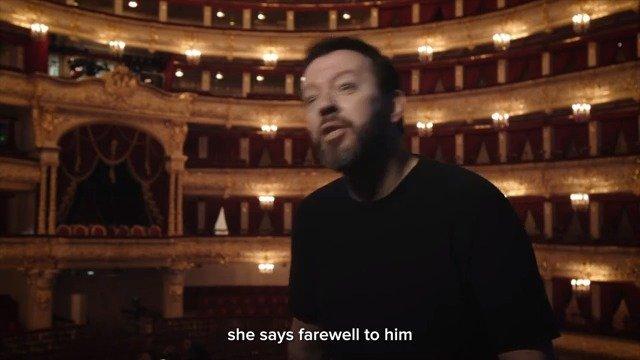 莫斯科大剧院 Ratmansky版吉赛尔影院直播宣传 Alexei Ratmansky小访