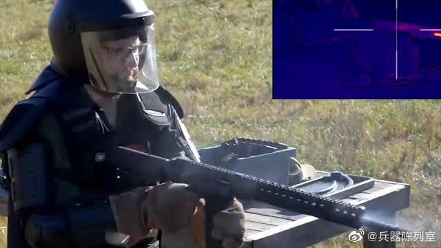 M4卡宾枪极限射击测试,枪管通红冒烟像是快融化了