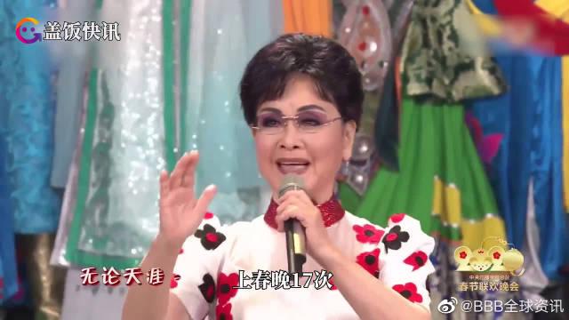 难忘今宵,李谷一老师连续上央视春晚多少年?提及春晚感受她这样说