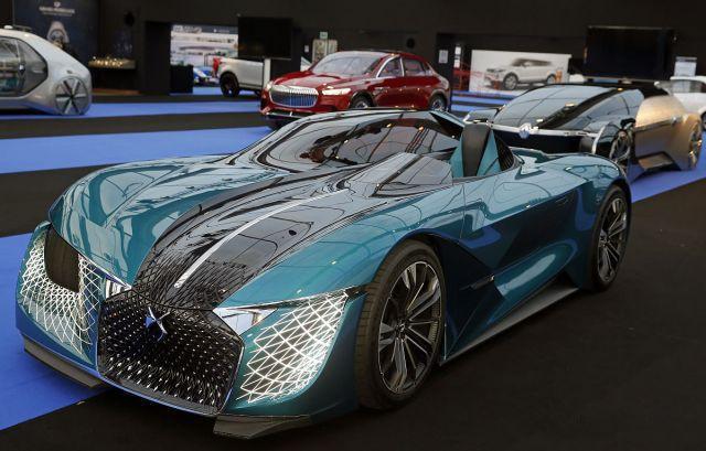 实拍巴黎国际车展上的豪车,很多国内从未见过,你喜欢哪一款?
