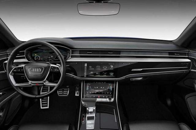 全新奥迪S8亮相,V8+48V轻混,01仅需4秒