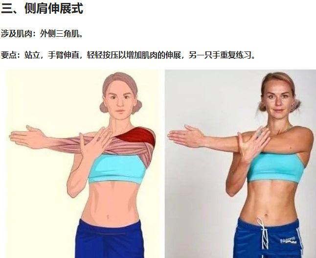 久坐不动腰酸背痛,超实用拉伸动作3D图解!