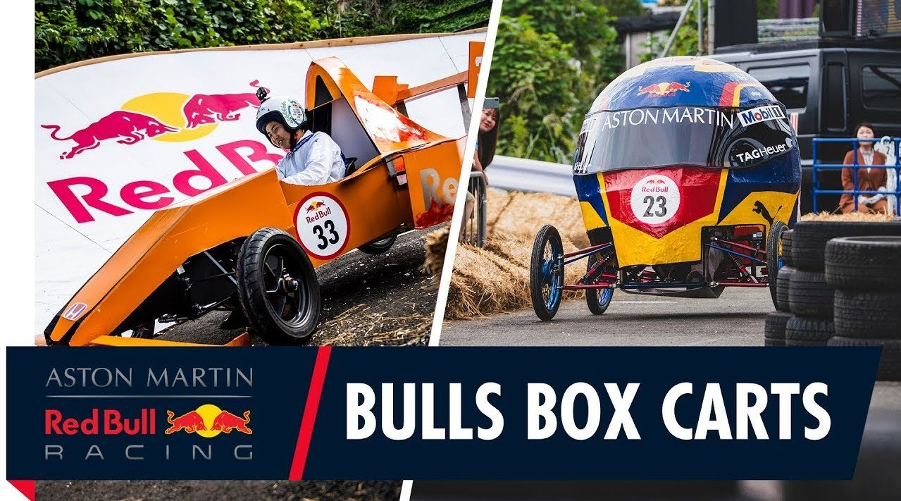 红牛车队车手 Max Verstappen 和 Alex Albon 前不久为 2019 Red Bull