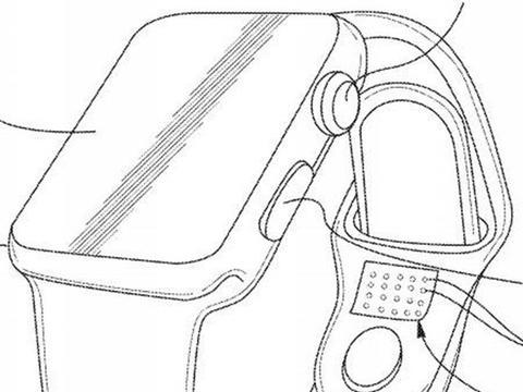 Apple Watch新专利曝光 表带能自动收紧