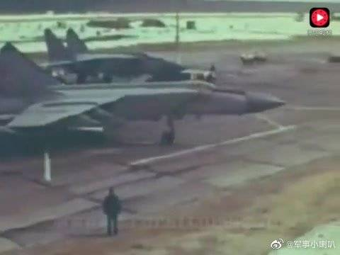 及其罕见!苏联米格25P歼击机留下的历史影像