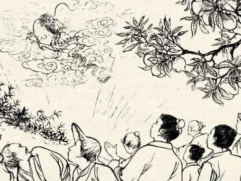 「创作开运礼」民间传说:百姓感恩修寺,半夜鸡叫没了庙