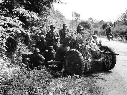 二战历史照片背后的故事布达佩斯战役街头尽头的豹式坦克