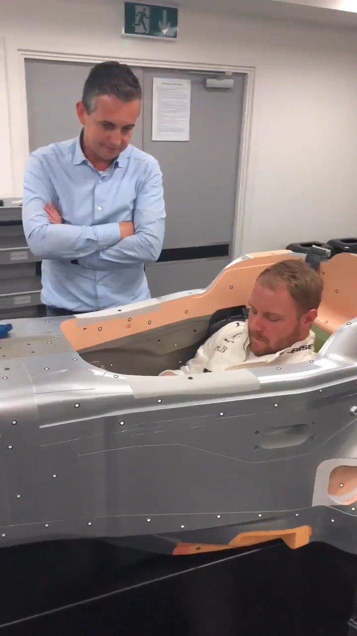 博塔斯定制2020款赛车座椅!梅赛德斯W11单体壳首次曝光