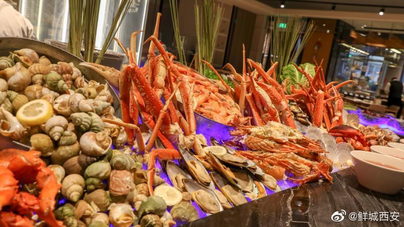 西安万丽酒店燃餐厅即日起推出自助餐新年特惠