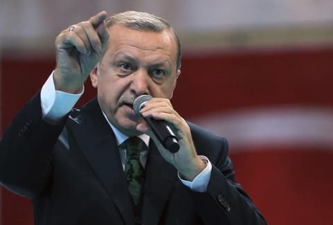 土耳其总统:恐怖分子消灭不完,是因为有西方的支持