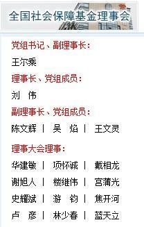 楼继伟卸任社保基金理事长,副部刘伟接任