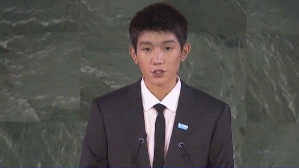 王源联合国演讲 儿童受教育的权利