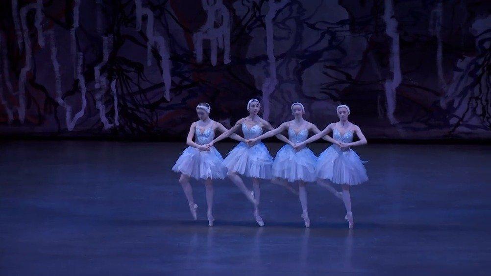 纽约城市芭蕾舞团 Peter Martins版天鹅湖 四小天鹅 Claire Von Enck