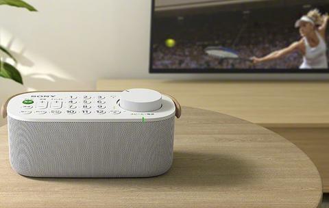 索尼新款电视遥控器还可以当做便携式音箱哦