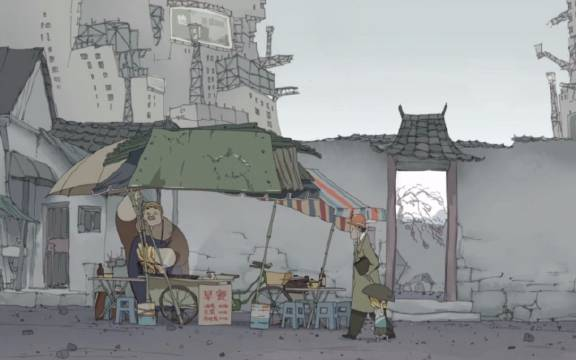 《一指城》是中国传媒大学动画专业2015届毕业作品之一,豆瓣8.7