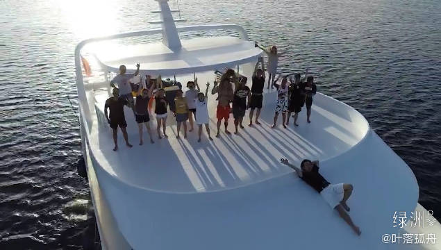 马尔代夫深南线船宿 第一次来船宿就是马代深南线的豪华船