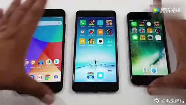 小米A1与红米Note4与iPhone6对比,我觉得iPhone6还能再战一年