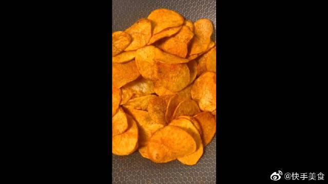 土豆的完美变身,自制薯片小零食!