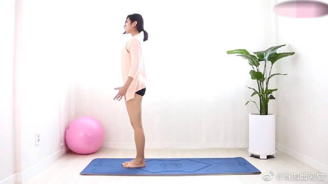 臀部瑜伽练习,帮你轻松练出蜜桃臀!