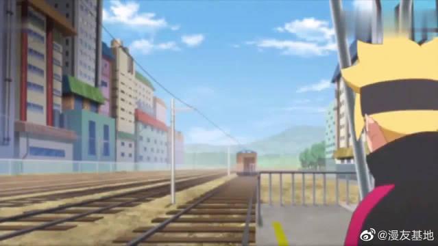 博人没买票偷偷搭上去风之国的火车,火影的儿子也不能这样啊