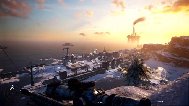 《狙击手 幽灵战士》12分钟游戏演示映像