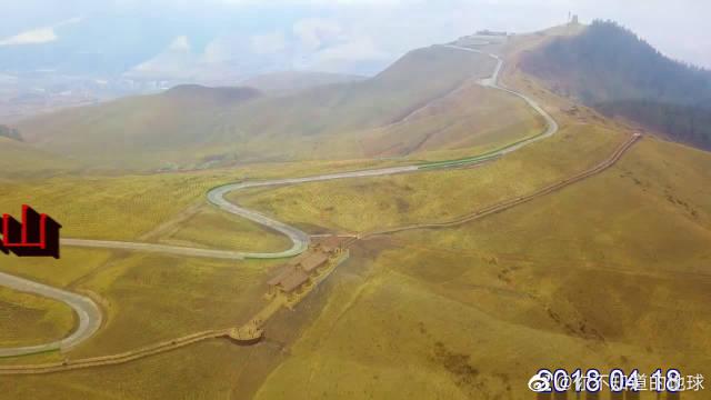航拍青海西宁卓尔山,大自然的馈赠。