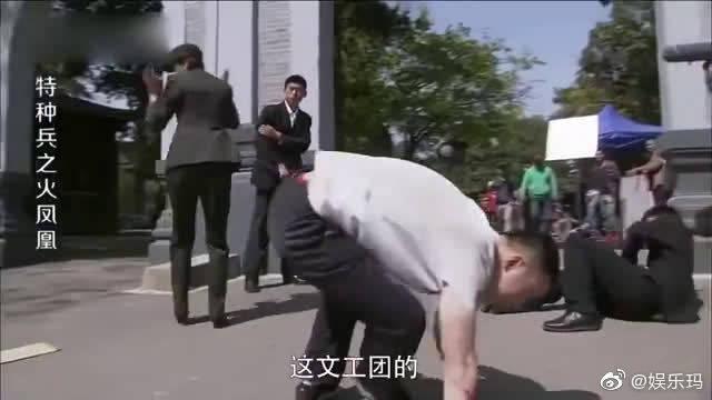 女特种兵大街上制服歹徒,没想到男子是在拍戏,这下尴尬了