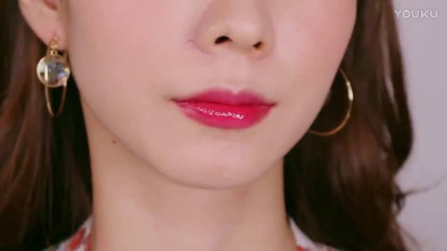 夏日果冻唇持久妆容分享,这个唇妆很诱惑