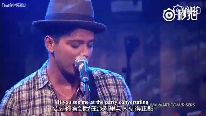 火星哥Bruno Mars《 Nothing On You 》现场版——音域及曲调面貌的熟
