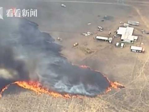 澳大利亚林火烧了100多天还没灭 惊现罕见火龙卷