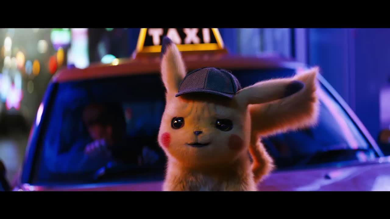 《Pokémon: Detective Pikachu》预告片来咯!