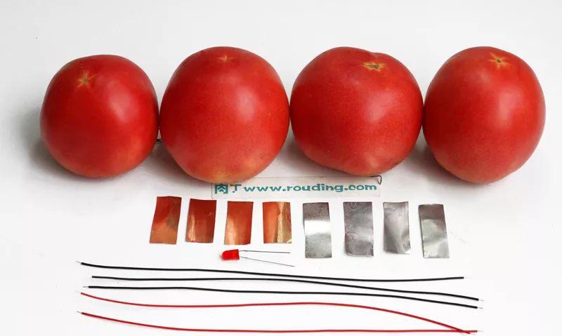 ❀【】水果发电儿童科学小实验 趣味水果蔬菜发电机DIY方法