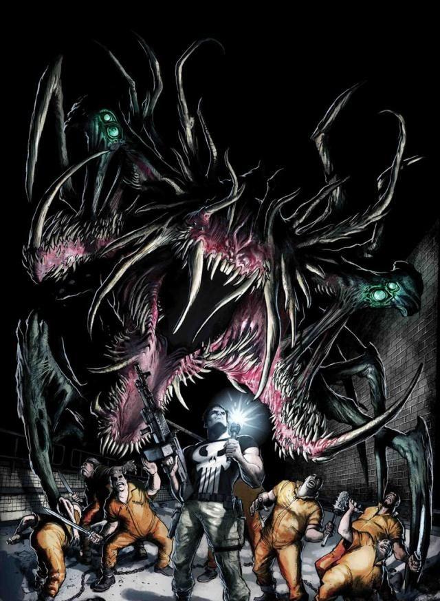 《诸界之战》夜魔侠拥有神灵之力,惩罚者一人大战怪物军团!