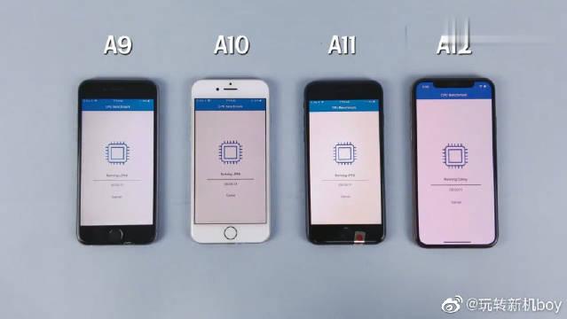 iPhone 6s、7、8性能对比iPhone XS,这差距真让人欲言又止