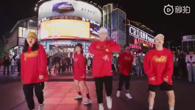 这才是舞蹈天团真气概,酷!  @中国街舞盛典
