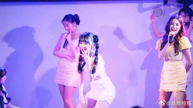 敏智小姐姐越发性感了!Busters可爱唱跳《Lalala》,现场很活泼啊~
