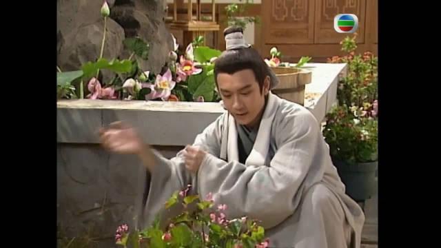 无尘大师圆寂赠画叶希,不得不说,陈浩民的颜太高了!