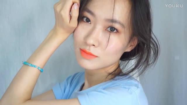 夏日假期节日光泽妆容,太可爱了