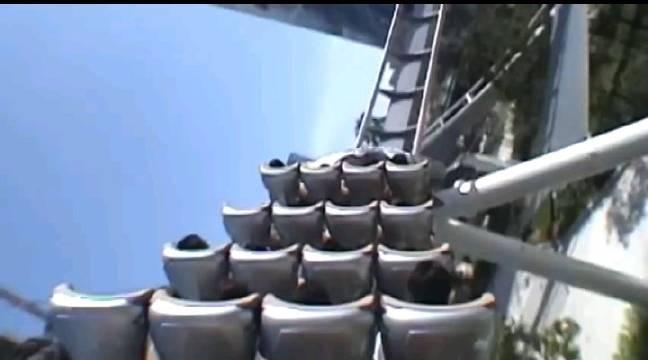 大阪的环球影城过山车,期待北京环球影城过山车呀