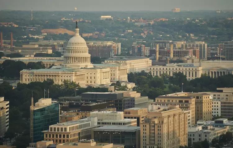 美国的首都华盛顿,放在中国是几线城市?驴友:简直没法