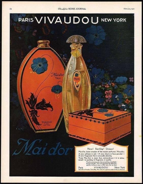 据说是一百年前的化妆品广告画 | Fred L. Packer