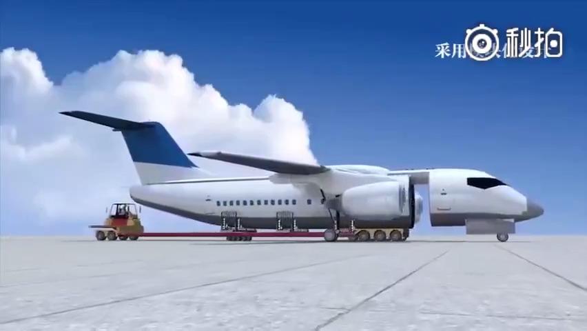 未来的飞机,再也不用担心坠机了更多精彩内容,可以进我微博看!