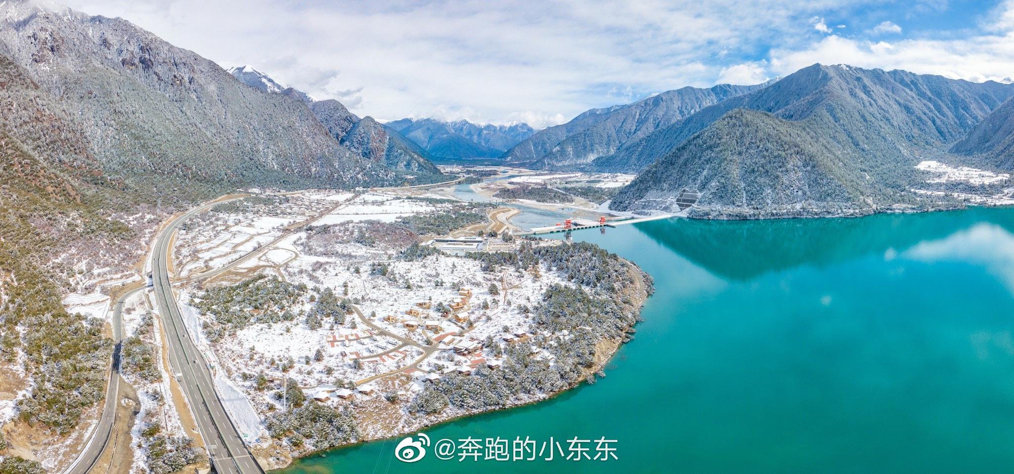 """拉林高等级公路,是西藏目前""""颜值最高""""的公路"""