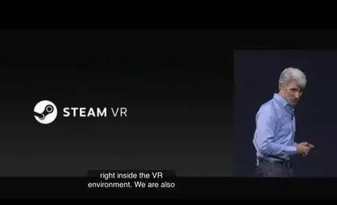 「STEAM情报」苹果与SteamVR合作,成为首个支持Mac的虚拟现实设备