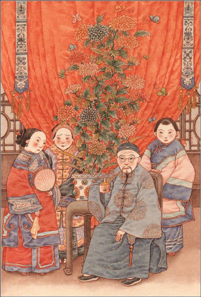 满是浓浓民间故事风味的原创绘本台湾作者王家珠作品《虎姑婆》 (