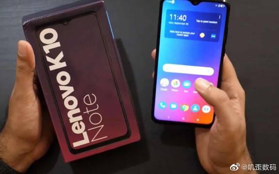 联想K10 Note开箱评测,采用骁龙710水滴屏!