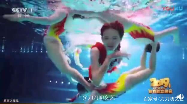 林志玲水上芭蕾惊艳了!被曝有19岁运动员做替身,美貌不输志玲