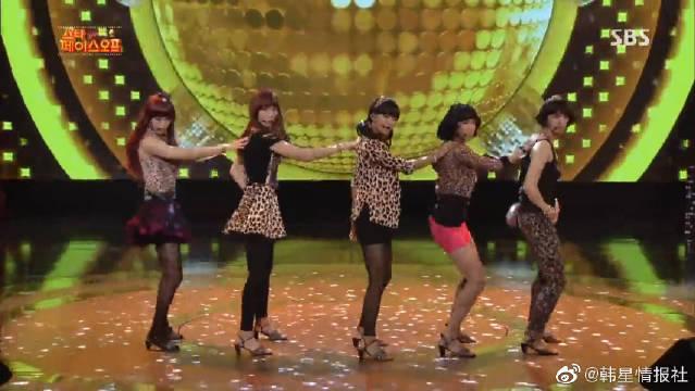 韩国男团VIXX模仿WonderGirls的《So hot》