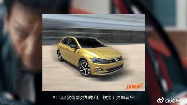 尺寸更大/独特徽标,大众Polo Plus谍照曝光!